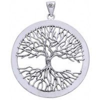 Wiccan Tree of Life Pendant