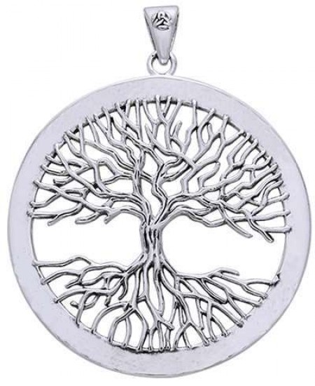 Wiccan Tree of Life Pendant at Mystic Convergence Metaphysical Supplies, Metaphysical Supplies, Pagan Jewelry, Witchcraft Supply, New Age Spiritual Store