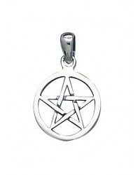 Pentacle Mini Sterling Silver Pendant Mystic Convergence Metaphysical Supplies Metaphysical Supplies, Pagan Jewelry, Witchcraft Supply, New Age Spiritual Store
