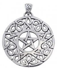 Knotwork Pentacle Pendant Mystic Convergence Metaphysical Supplies Metaphysical Supplies, Pagan Jewelry, Witchcraft Supply, New Age Spiritual Store