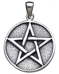 Pentacle Solid Silver Pentagram Pendant Mystic Convergence Metaphysical Supplies Metaphysical Supplies, Pagan Jewelry, Witchcraft Supply, New Age Spiritual Store