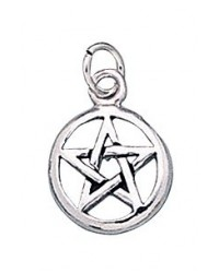 Pentacle Sterling Silver Charm Mystic Convergence Metaphysical Supplies Metaphysical Supplies, Pagan Jewelry, Witchcraft Supply, New Age Spiritual Store