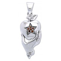 Pentagram Apple Witches Pendant