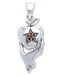 Pentagram Apple Witches Pendant Mystic Convergence Metaphysical Supplies Metaphysical Supplies, Pagan Jewelry, Witchcraft Supply, New Age Spiritual Store