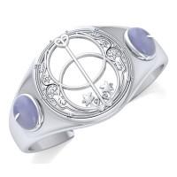 Chalice Well Rainbow Moonstone Bracelet