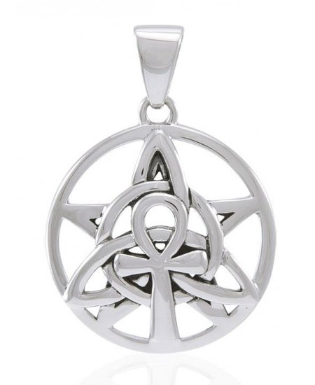 Sacred Symbol Sterling Silver Pendant at Mystic Convergence Metaphysical Supplies, Metaphysical Supplies, Pagan Jewelry, Witchcraft Supply, New Age Spiritual Store