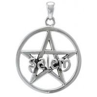 Salem Pentagram Sterling Silver Pendant