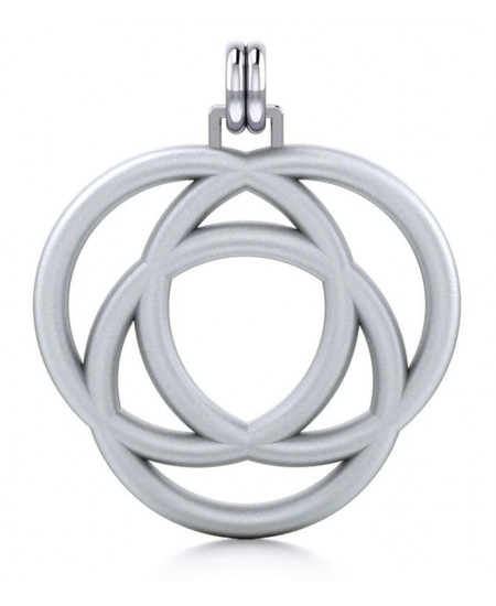 Avalon Triad Silver Unity Pendant at Mystic Convergence Metaphysical Supplies, Metaphysical Supplies, Pagan Jewelry, Witchcraft Supply, New Age Spiritual Store