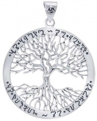 Wiccan Tree of Life Rune Pendant Mystic Convergence Metaphysical Supplies Metaphysical Supplies, Pagan Jewelry, Witchcraft Supply, New Age Spiritual Store