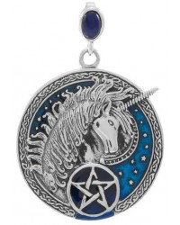 Celtic Unicorn Pentacle Laurie Cabot Pendant Mystic Convergence Metaphysical Supplies Metaphysical Supplies, Pagan Jewelry, Witchcraft Supply, New Age Spiritual Store