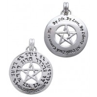 Theban Pentacl Prosperity Prayer Talisman