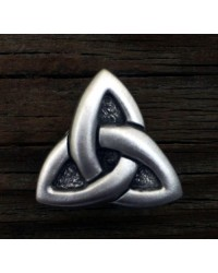 Celtic Triquetra Pewter Concho Mystic Convergence Metaphysical Supplies Metaphysical Supplies, Pagan Jewelry, Witchcraft Supply, New Age Spiritual Store