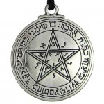 Talisman of Venus Love Pentacle Pewter Necklace at Mystic Convergence Metaphysical Supplies, Metaphysical Supplies, Pagan Jewelry, Witchcraft Supply, New Age Spiritual Store