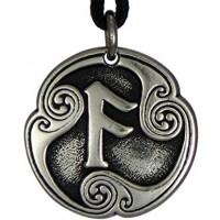 Ansur - Rune of Communication Talisman Pendant