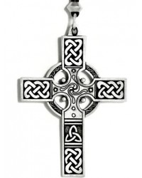 Celtic Cross Necklace - Large Mystic Convergence Metaphysical Supplies Metaphysical Supplies, Pagan Jewelry, Witchcraft Supply, New Age Spiritual Store