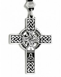 Celtic Cross Necklace - Small Mystic Convergence Metaphysical Supplies Metaphysical Supplies, Pagan Jewelry, Witchcraft Supply, New Age Spiritual Store