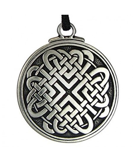 Celtic Love Knot Pewter Necklace at Mystic Convergence Metaphysical Supplies, Metaphysical Supplies, Pagan Jewelry, Witchcraft Supply, New Age Spiritual Store