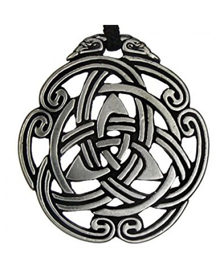 Celtic Peace Knot Pewter Necklace at Mystic Convergence Metaphysical Supplies, Metaphysical Supplies, Pagan Jewelry, Witchcraft Supply, New Age Spiritual Store