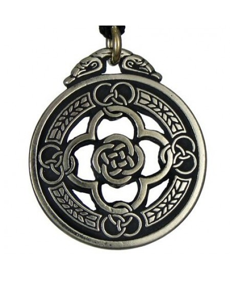 Celtic Knot Warrior Shield Protection Necklace at Mystic Convergence Metaphysical Supplies, Metaphysical Supplies, Pagan Jewelry, Witchcraft Supply, New Age Spiritual Store