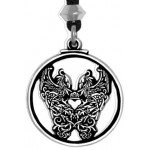 Double Phoenix Pewter Pendant at Mystic Convergence Magical Supplies, Wiccan Supplies, Pagan Jewelry, Witchcraft Supplies, New Age Store