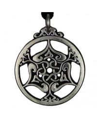 Heart Triskele Celtic Knot Pewter Necklace Mystic Convergence Metaphysical Supplies Metaphysical Supplies, Pagan Jewelry, Witchcraft Supply, New Age Spiritual Store