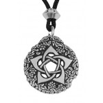 Pentacle of the Goddess Small Pewter Necklace at Mystic Convergence Metaphysical Supplies, Metaphysical Supplies, Pagan Jewelry, Witchcraft Supply, New Age Spiritual Store