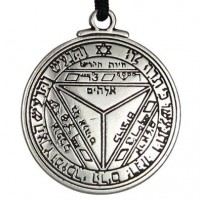 Talisman of Saturn for Success Pewter Necklace