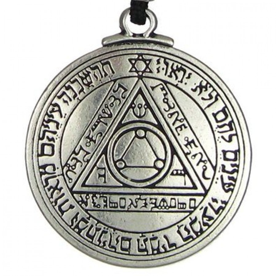 talisman of the sun for truth and health magical amulet