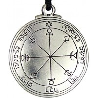 Talisman of the Moon for Intuitive Dreams Pewter Pendant