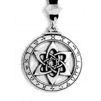 Astrologer's Star Pewter Necklace