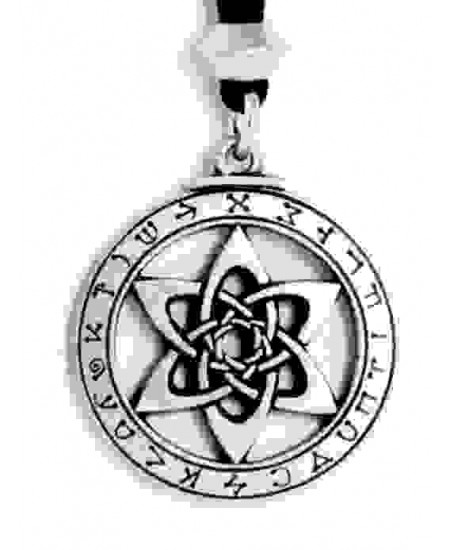 Astrologer's Star Pewter Necklace at Mystic Convergence Metaphysical Supplies, Metaphysical Supplies, Pagan Jewelry, Witchcraft Supply, New Age Spiritual Store