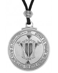 Talisman for Honor and Riches Pewter Pendant