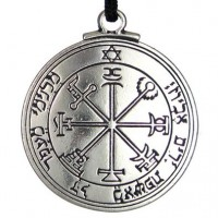 Talisman of Jupiter for Protection Pewter Necklace