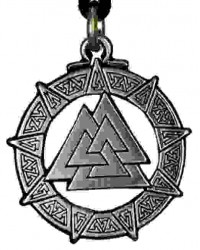 The Valknut Viking Rune Necklace