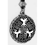 Yggdrasill Viking World Tree Necklace at Mystic Convergence Magical Supplies, Wiccan Supplies, Pagan Jewelry, Witchcraft Supplies, New Age Store