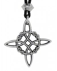 Witches Knot Pewter Power and Protection Pendant Mystic Convergence Metaphysical Supplies Metaphysical Supplies, Pagan Jewelry, Witchcraft Supply, New Age Spiritual Store