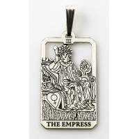 The Empress Small Tarot Pendant