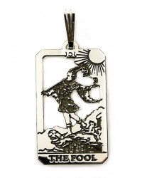 The Fool Small Tarot Pendant Mystic Convergence Metaphysical Supplies Metaphysical Supplies, Pagan Jewelry, Witchcraft Supply, New Age Spiritual Store