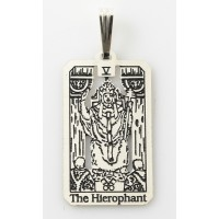 The Hierophant Small Tarot Pendant