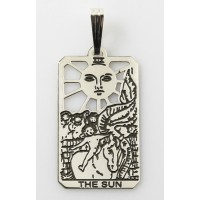 The Sun Small Tarot Pendant