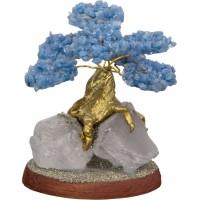 Angelite Gemstone Wishing Tree