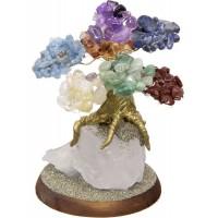 7 Chakras Gemstone Wishing Tree