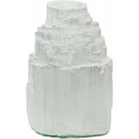 Selenite Iceberg Tea Light Candle Holder