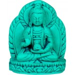 Kwan Yin Turquoise Hindu Goddess Figurine at Mystic Convergence Magical Supplies, Wiccan Supplies, Pagan Jewelry, Witchcraft Supplies, New Age Store