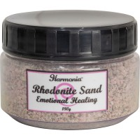 Rhodonite Gemstone Sand for Emotional Healing