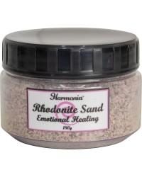Rhodonite Gemstone Sand for Emotional Healing
