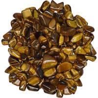 Tiger Eye Tumbled Stones - 1 Pound Bag