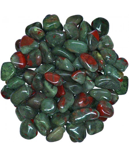 Bloodstone Tumbled Stones - 1 Pound Bag at Mystic Convergence Metaphysical Supplies, Metaphysical Supplies, Pagan Jewelry, Witchcraft Supply, New Age Spiritual Store