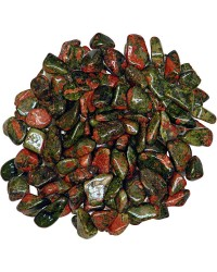 Unakite Tumbled Stones - 1 Pound Bag Mystic Convergence Metaphysical Supplies Metaphysical Supplies, Pagan Jewelry, Witchcraft Supply, New Age Spiritual Store