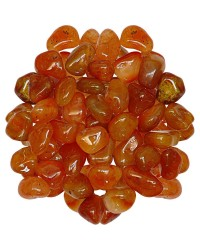 Carnelian Tumbled Stones - 1 Pound Pack Mystic Convergence Metaphysical Supplies Metaphysical Supplies, Pagan Jewelry, Witchcraft Supply, New Age Spiritual Store